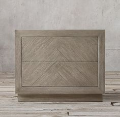 Herringbone 30 Nightstand
