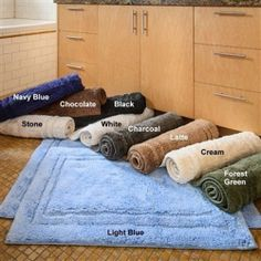 Hotel Collection Superior Combed Cotton 2 Piece Bath Rug Set  #HotelCollection