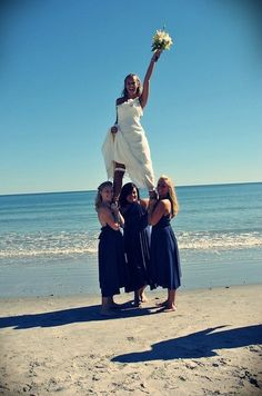 I want a picture like this! I so wouldn't not be the flyer haha, Thank goodness my girls were cheerleaders & I got a flyer (: Lets do this please? @shelby c Huber @CABernet Schultz @KendraSimonsen :)