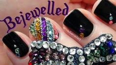 Bejewelled Nails & Removal (inspired by Butler and Wilson jewellery), via YouTube.