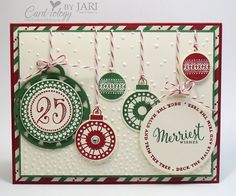 Merriest Wishes  Stampin' Up!