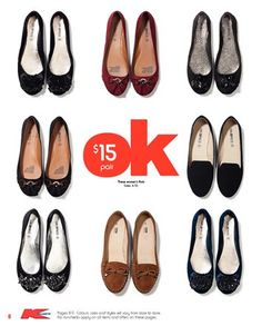 I have about 4 of these pairs of shoes! Kmart is great value for $