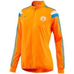 "adidas 2014 Boston Marathon Official Women's ""Celebration"" Jacket Solar Zest"