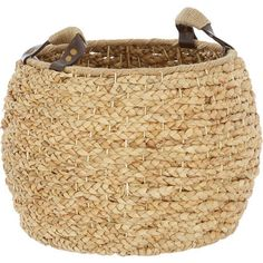 Buy Brown Round Water Hyacinth Basket at TK Maxx Water Hyacinth, White Home Decor, Tk Maxx, White Houses, Home Accessories, Basket, Brown, Design, White Homes