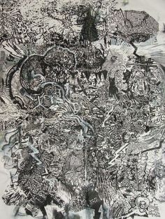 NICK BLINKO (1961) | http://britishoutsiderart.com/artists/nick_blinko.aspx