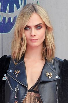 Cara Delevingne - Longer than a bob, not exactly a lob, the Long-Ass Lob is this fall's most ubiquitous–and versatile–haircut.