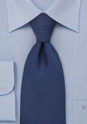 Stylische Krawatte nachtblau strukturiert günstig kaufen