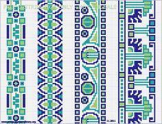 From the collection of Annemarie van de Peut Embroidery pattern Cross Stitch Art, Cross Stitch Borders, Cross Stitch Embroidery, Cross Stitch Patterns, Seed Bead Patterns, Loom Patterns, Beading Patterns, Embroidery Patterns, Knitting Charts