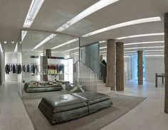Cerruti boutique by Christian Biecherme, Paris