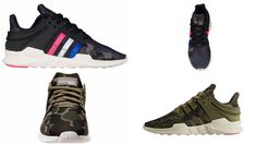 The Adidas EQT Support ADV Camo Pack BB1307 BB1309 Releases Today