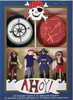 Meri Meri Ahoy Pirate Cupcake Kit 450790 Meri Meri http://smile.amazon.com/dp/B00BBZUJ5Y/ref=cm_sw_r_pi_dp_YbnYvb0JWB3E6