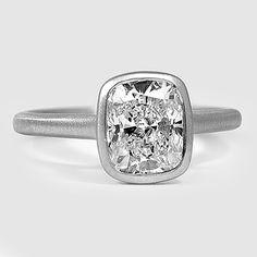 Bezel Set Engagement Ring | Luna | Brilliant Earth