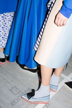 ROKSANDA ILINCIC FALL/WINTER 2014: LONDON FASHION WEEK - OPENING CEREMONY