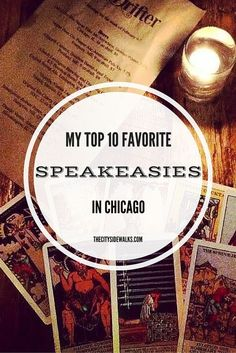 Planning a vacation (or a staycation) in Chicago? Try visiting one of these cool speakeasies.