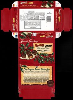 Hershey - Reese's - Retro Christmas peanut butter cups box - 2007 | Flickr - Photo Sharing!