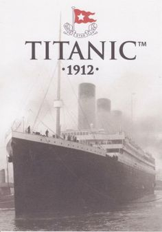 Titanic - Known as the unsinkable Titanic, ship of dreams What would the world be like if RMS Titanic hadn't sunk Rms Titanic, Titanic Photos, Titanic Sinking, Titanic Movie, Titanic Prom, Belfast, Poster Club, Titanic Artifacts, Cherbourg