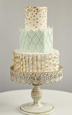 gorgeous wedding cake #11