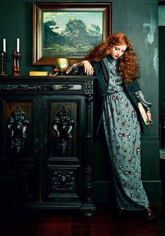 59 ideas for fashion photography editorial vogue lily cole Lily Cole, Foto Fashion, High Fashion, Style Fashion, Trendy Fashion, Rich Hair Color, Irish Redhead, Redhead Teen, Foto Fantasy