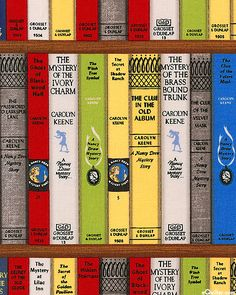 """Get A Clue With Nancy Drew - Fifteen Mysteries - 24"""" x 44"""" PANEL"""