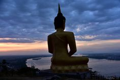 https://flic.kr/p/GdA2LG | Sunset gold buddha at Pakse Laos | In front of #mekong river and near #pakse city a gold #buddha #sunset. #Laos, ASIA.   Many thanks to all those who View, Comment and or Fave My Photos... It is greatly appreciated... Vincent ;)   Youtube video here : www.youtube.com/watch?v=Hnefz3fZFSk   Available on #getty here : www.gettyimages.co.uk/detail/photo/pakse-laos-royalty-fre...   Check it out my Portfolio:  GETTY IMAGES Maybe you like this: /  Facebook  /  Twitter…