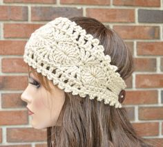 Original pattern Ear warmer Headband