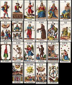Vintage Tarot Cards - Major Arcana | Flickr - Photo Sharing!