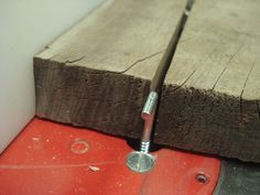 This is a great idea for a splitter instead of a riving blade. This is actually an add-on idea in a tutorial for the easiest way I've seen to make a zero-clearance insert for a table saw.
