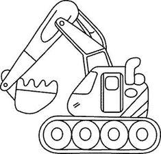 ausmalbilder, malvorlagen - traktor kostenlos zum ausdrucken   applikationen/ ausmalbilder