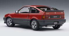 Honda Ballade CR-X Si (1985) | 1:18 Scale Diecast Model Car by AUTOart | Rear quarter