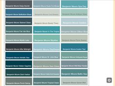Calming blue paint colors