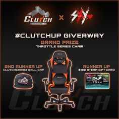 Enter This #Gaming Chair #Giveaway, Courtesy Of Clutch Chairz #ClutchUp  https://wn.nr/5SZAyP
