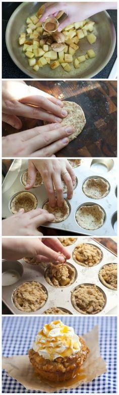 FunStocki: Apple Pie Cupcakes