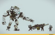 Игры,Titanfall,Игровой арт,game art