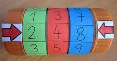 EL COLOR DE LA ESCUELA: LA MÁQUINA DE NUMERACIÓN Math Bingo, Math Games, Math Activities, Creative Teaching, Creative Activities, Teaching Kids, Cult Of Pedagogy, Math Place Value, Dora