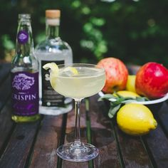 Apples aren't just for autumn. Try the SAGE Crispin Clover cocktail this weekend! 2 parts SAGE, 2 parts Crispin Refined Extra Dry Cider, 1 part Simple Syrup, 1 part fresh squeezed lemon juice. #cheers #cocktails