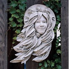 Outdoor Décor-Design Toscano Daphne Greenwoman Wall Sculpture * Check out the image by visiting the link.