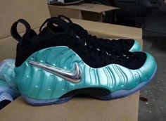9b436793a578c Buy New Nike Air Foamposite Pro Island Green Metallic Platinum- Authentic  from Reliable New Nike Air Foamposite Pro Island Green Metallic Platinum-  ...