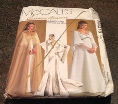 McCall's Sewing Pattern M4378 Misses Petite Cape And Lined