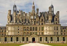 #loirevalley, #chambord, #france Chateau de Chambord A treia oară la Chambo