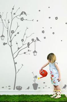 Sticker enfants Mon arbre adoré - Autocollants muraux
