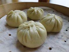 Recettes d'une Chinoise: Bao (brioche vapeur) au porc et à la citronnelle