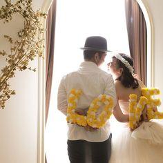 ふたりの愛の証♡素材別とってもかわいい『LOVEオブジェ』のデザインまとめ*にて紹介している画像 Couple Pictures, Wedding Photos, How To Memorize Things, Photoshoot, Bridal, Couples, Photography, Weddings, Couple