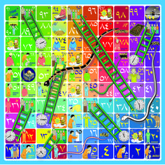 Snakes and Ladders Game Board Printable Top Board Games