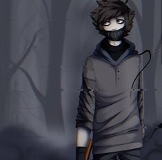 Creepypastas Ticci Toby, Proxy, Creepy Pasta Family, Nose Drawing, Old Fan, Anime, Therapy, Hoodie, Actors