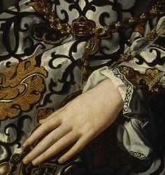 Eleonora di Toledo col figlio Giovanni, Agnolo Bronzino (1544-45), oil on wood, Uffizi, Firenze