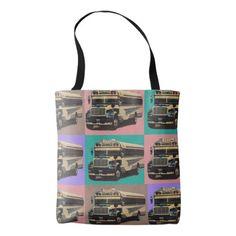 80 - Designer tote bag - Chica Sexy bus