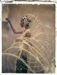 """The Modern Bride I"" - Gaultier 2008,  by Cathleen Naundorf."