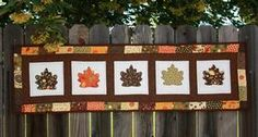 Falling Leaves Table Runner » Notions - The Connecting Threads Quilt Blog