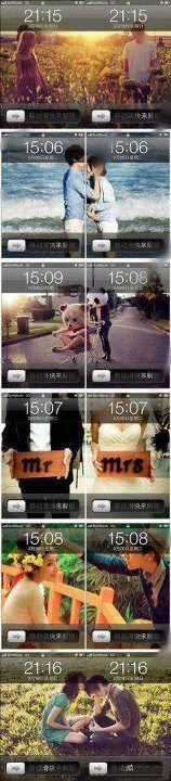 couple wallpapers!! Soooo cute