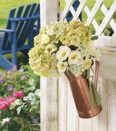A lovely #DIY floral arrangement